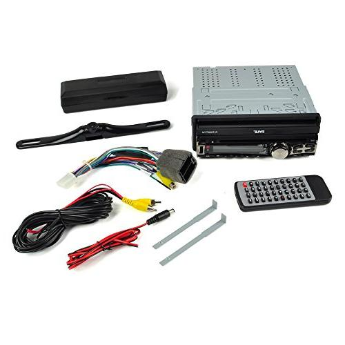 Pyle Car Receiver System Backup Kit Radio CD/DVD | Bluetooth Wireless Streaming | Hands-Free Talking | | DIN