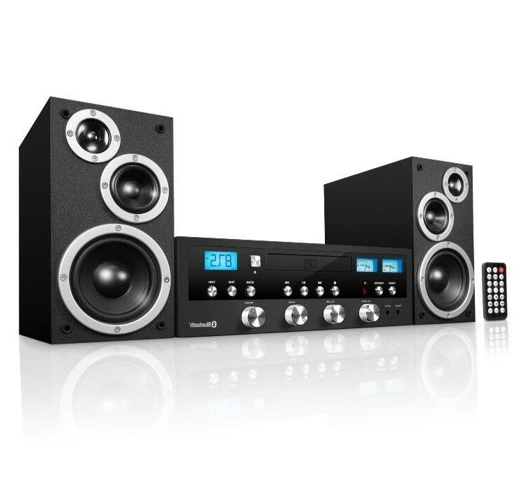 classic cd stereo audio system bass sound