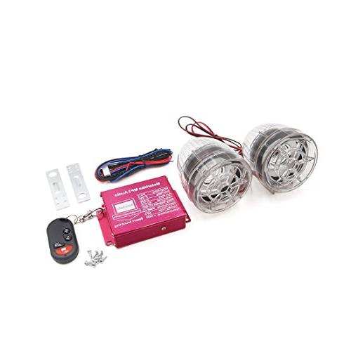 clear motorcycle anti theft alarm