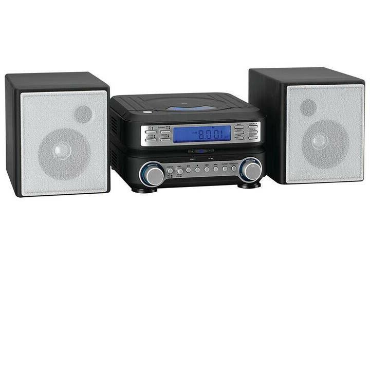 Compact Bookshelf AM MP3 Remote