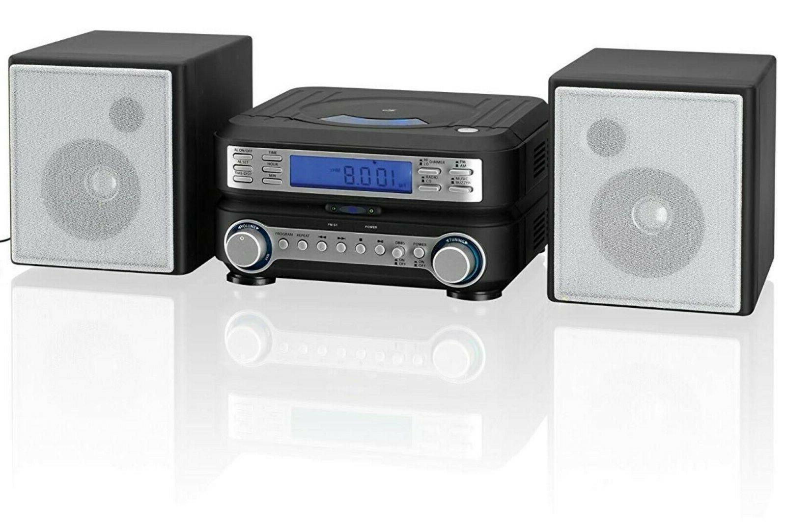 compact bookshelf stereo system am fm radio