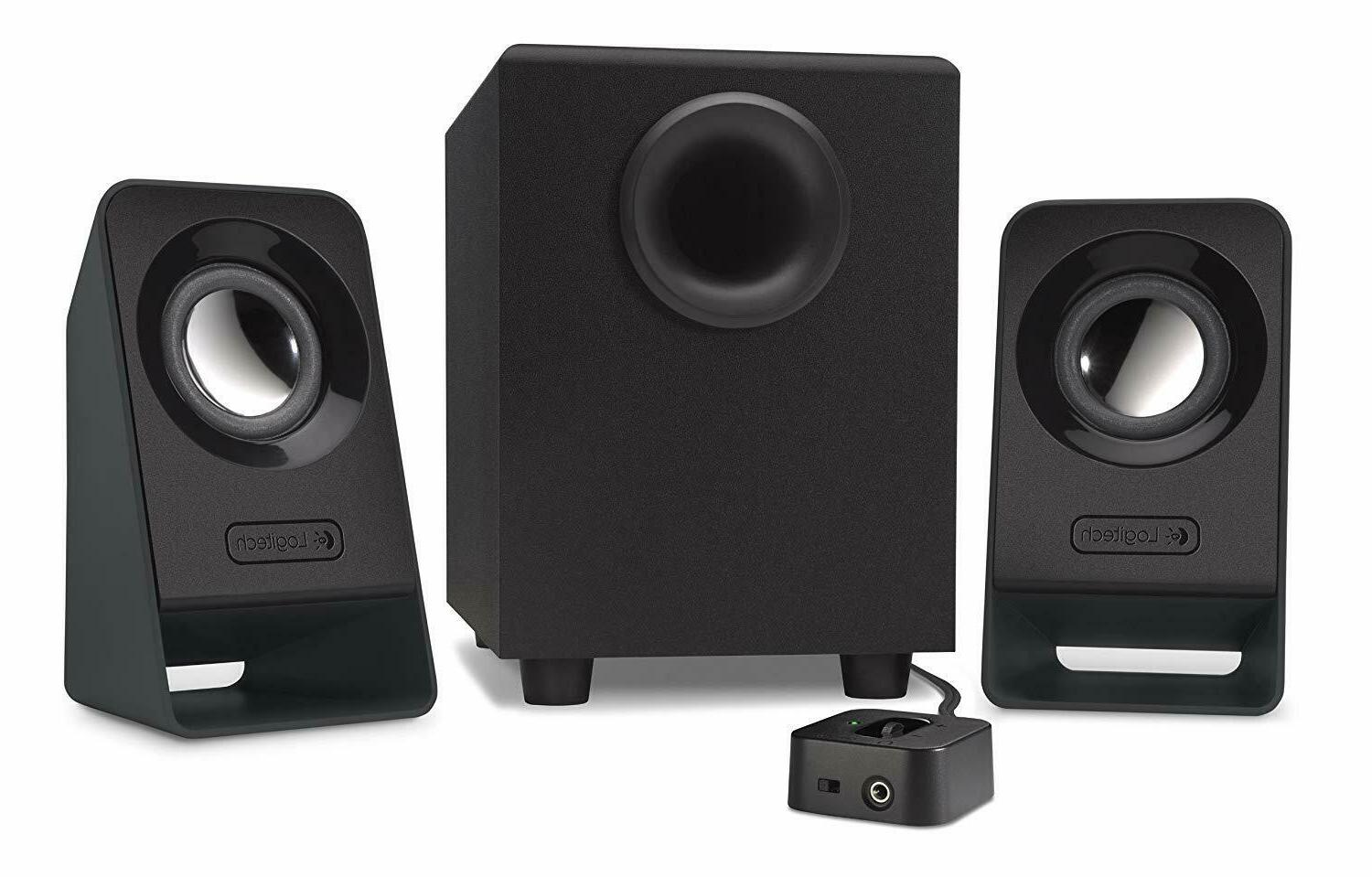 Logitech Computer PC Speakers 2.1 Stereo Sound System with S