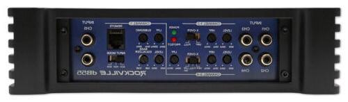 Rockville RMS 5 Car Stereo Amplifier+Amp Kit Loud !