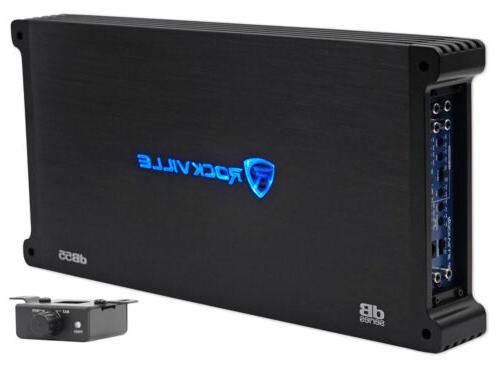 Rockville 4000 Watt/2000w RMS Stereo Amplifier+Amp Kit !