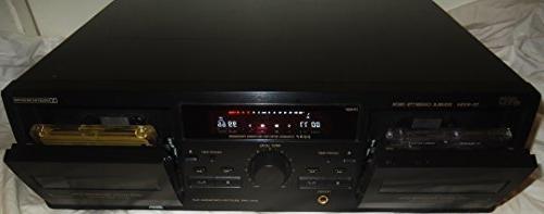 double cassette deck td w254