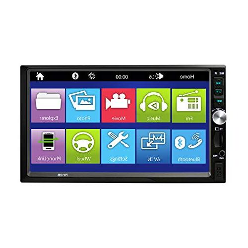 "Carlike 7"" Touch Screen MP3 Video Player FM Radio/TF/ Rear View +"