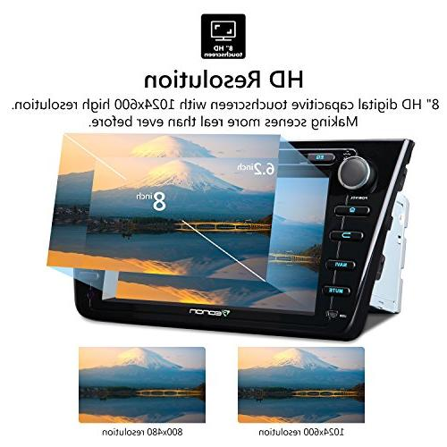 "2019 Head Unit, Eonon 8.1 Din Car Stereo 7"" GPS Navigation Head Unit, Support Fastboot Connection GA2175"