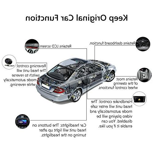 """2019 Car Unit, Eonon Double Din 7"""" 32GB ROM GPS Support Fastboot WiFi Connection"""