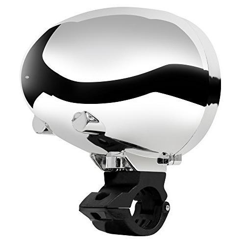 GoldenHawk USA Waterproof Bluetooth 7/8-1 in. Handlebar MP3 Audio Stereo ATV AUX IN, 2.0, SD, FM
