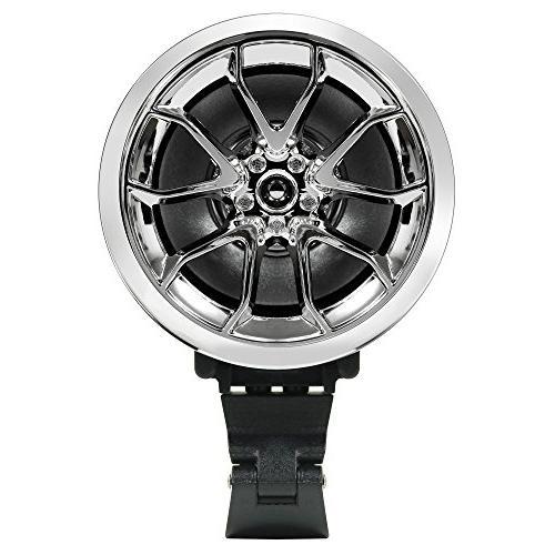 "GoldenHawk USA 3"" Motorcycle Waterproof Wireless 7/8-1 Handlebar Mount MP3 Audio IN, micro SD, Radio"