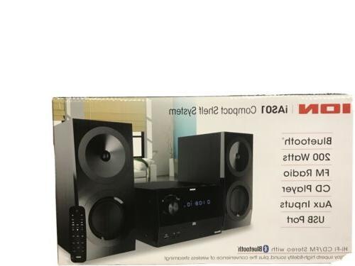 hi fi stereo shelf system with bluetooth