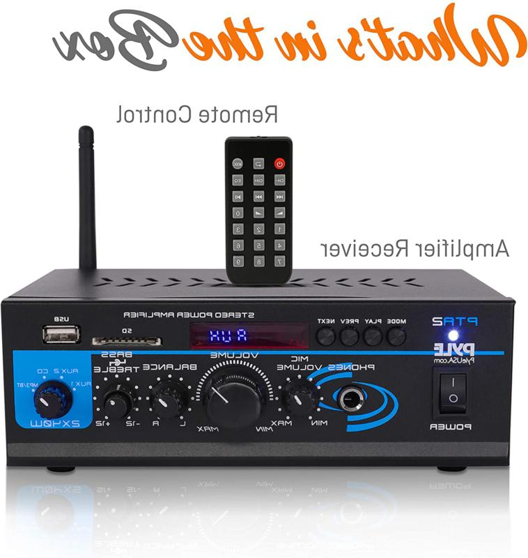 Home Audio System 2X40W Dual Channel Stereo