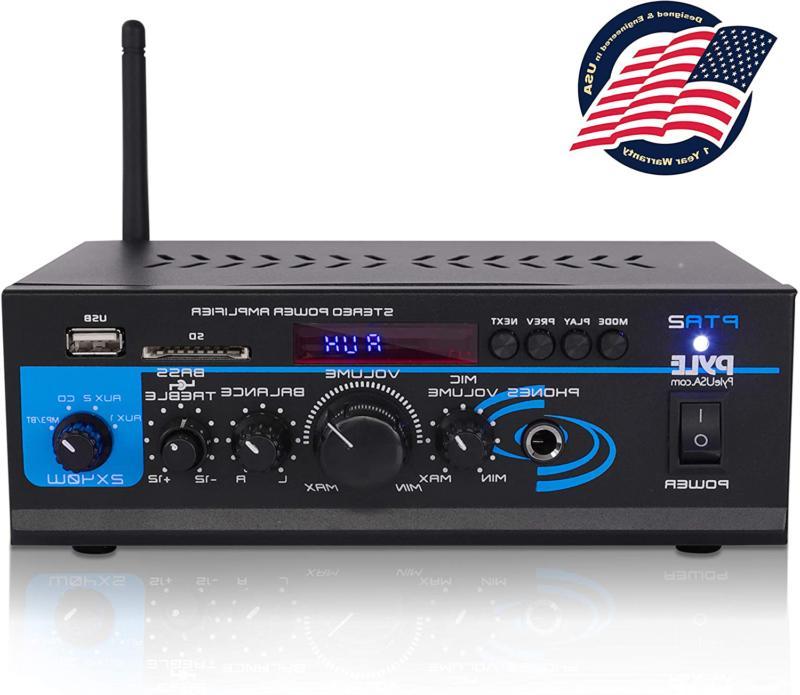 home audio power amplifier system 2x40w mini