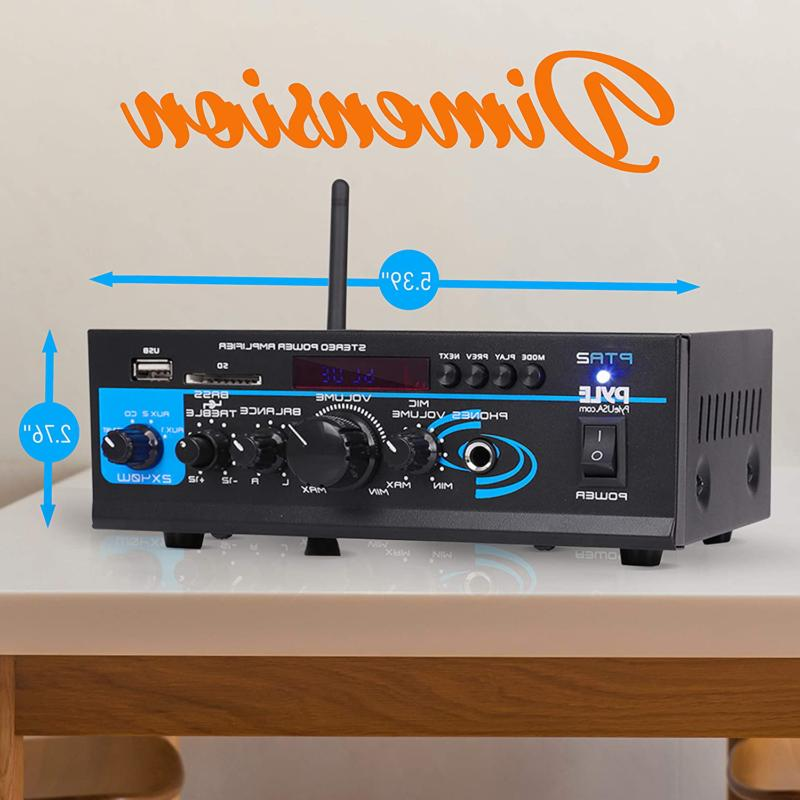 Home System 2X40W Dual Stereo R