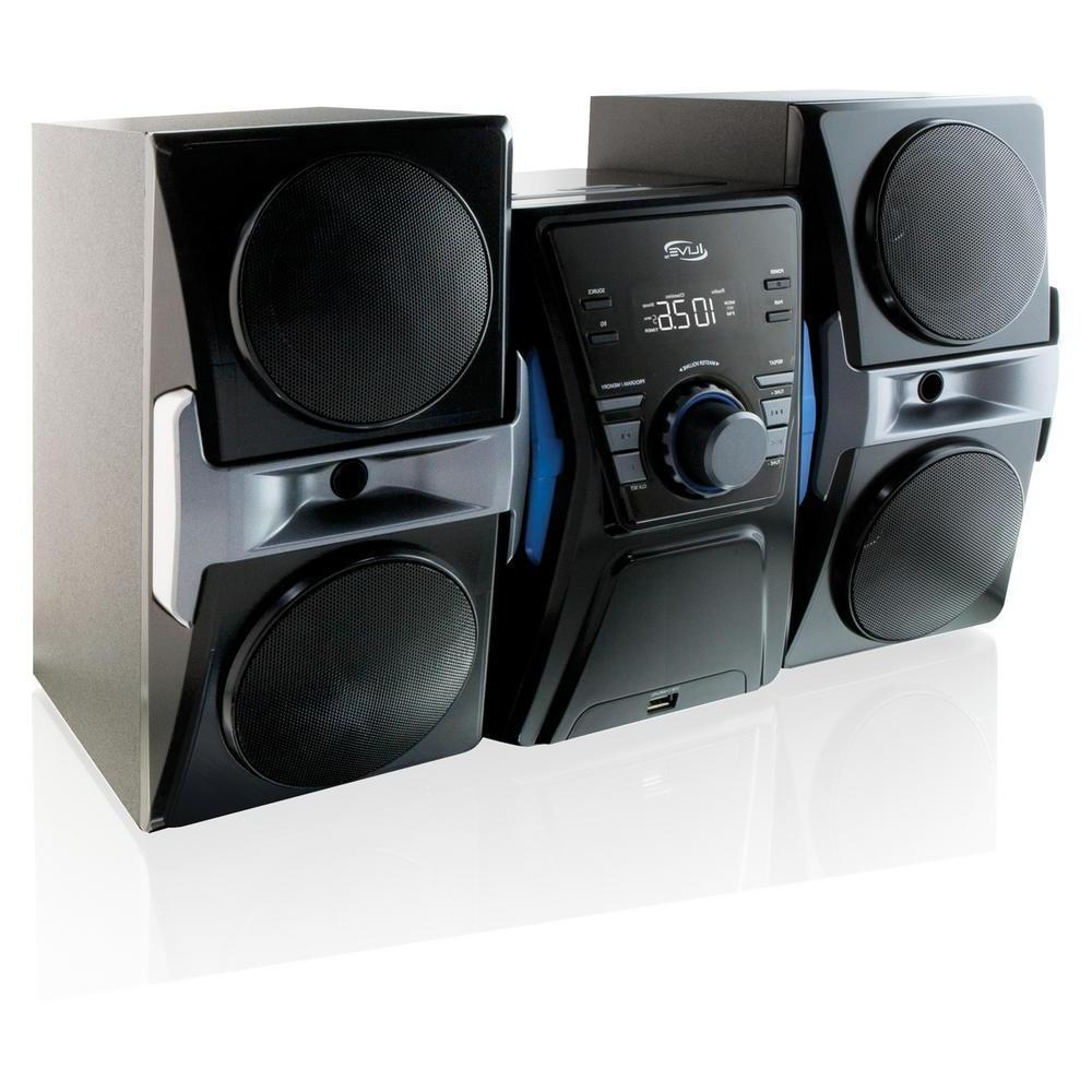 Bluetooth Home Stereo System CD Player FM Radio Music iPod S