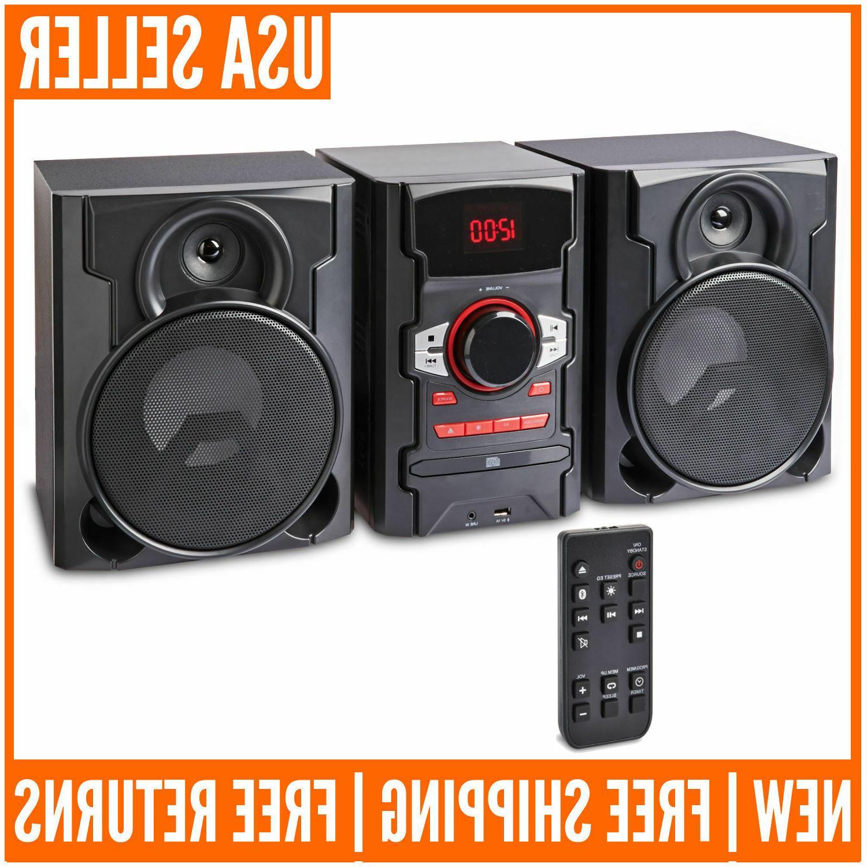 home theater stereo speaker system bluetooth shelf