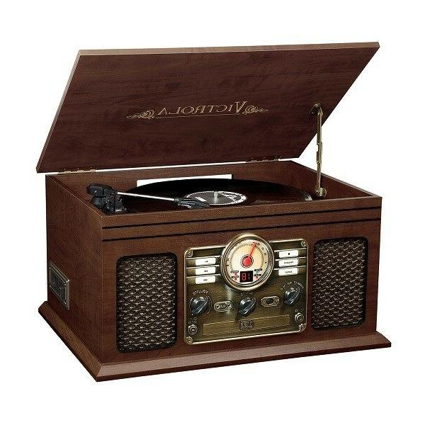 Innovative Technology Victrola VTA-600B Bluetooth Turntable