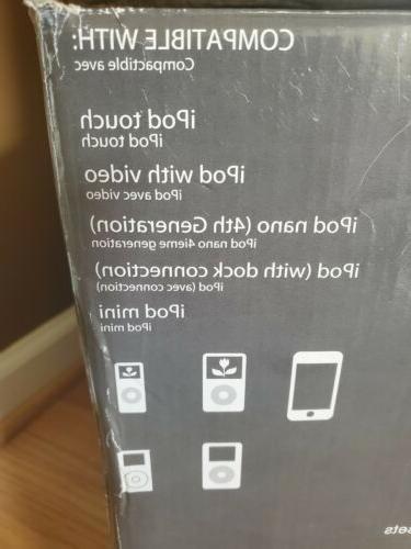 Sylvania Iphone Cd Mini Stereo System SIP-1527