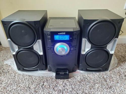Sylvania Dock Cd Mini Stereo SIP-1527