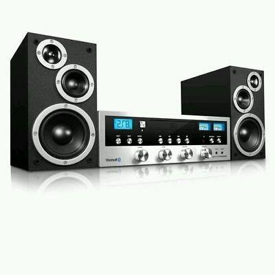 Innovative Technology ITCDS-5000 System CD FM Silver