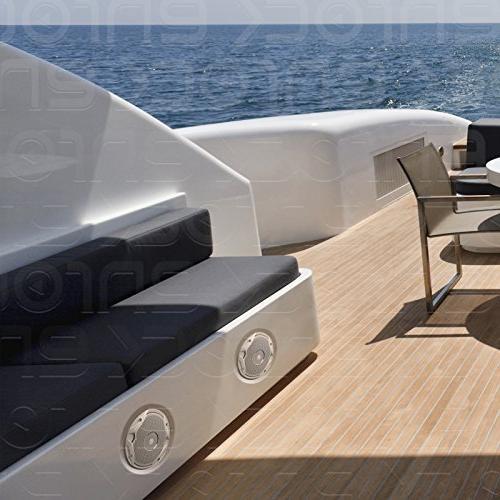 JBL PRV-175 Boat Yacht 180W Media AUX Style Stereo 2 White Speakers