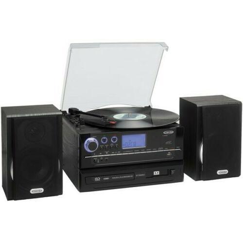 jensen jta 990 3 speed stereo turntable
