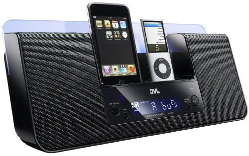 jvc dual ipod iphone audio system