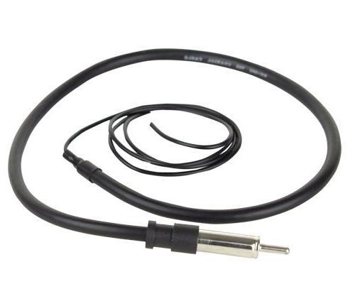 "JVC Receiver Remote Enrock Black/Chrome 6.5"" Boat Speaker + Foot Speaker"