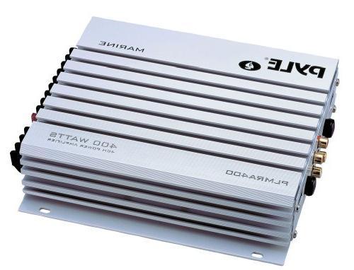 JVC Marine Stereo Bundle Kit Remote Control, Ch 400w Waterproof Enrock 50
