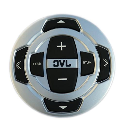 Receiver Bundle Combo Remote Control + Enrock Black/Chrome Speaker + Amplifier + + 50 16g Speaker Wire