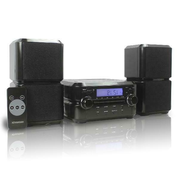 Magnavox Mm435 Cd Shelf Stereo System Am