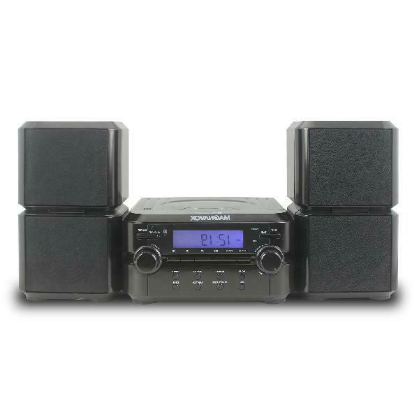 Magnavox Mm435 Black 3Pc Cd Am