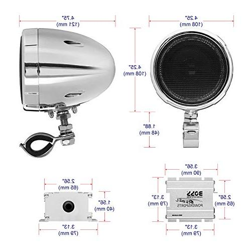 All-Terrain, Amplifier System, 3 Inch Amplifier, Volume Ideal and 12 Volt