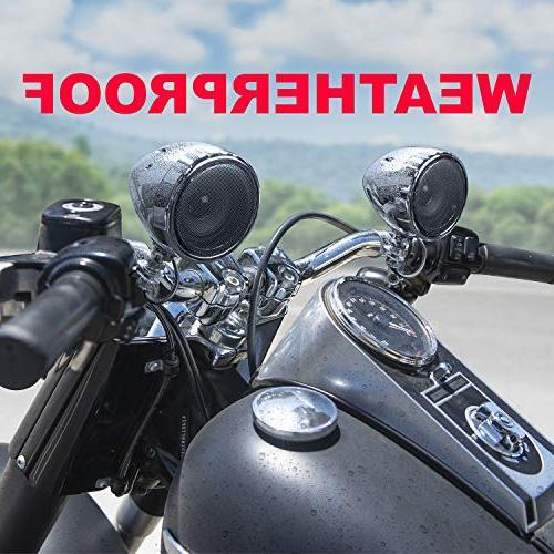 BOSS MC420B All-Terrain, Speaker Amplifier 3 Amplifier, Inline Volume Ideal Motorcycles/ATV 12 Applications