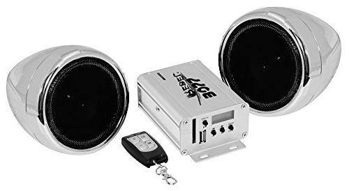 mc500 chrome motorcycle atv sound