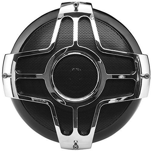 BOSS Motorcycle / ATV – Bluetooth, Weatherproof, Two 4 Speakers, One 2 Amplifier, Volume Control, ATV/Motorcycle/12