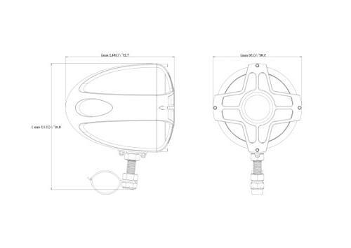BOSS MC750B Motorcycle / Speaker System – Two 4 Volume ATV/Motorcycle/12 Volt Vehicles