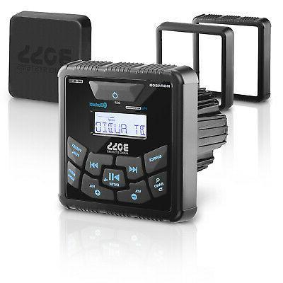 "BOSS MGR450B AUDIO Boss 3.5"" Indash Marine AM/FM Receiver Bl"