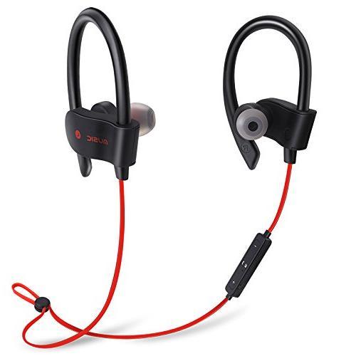35392f971aa moloke Bluetooth Headphones, Best Wireless Sports Earphones w/Mic