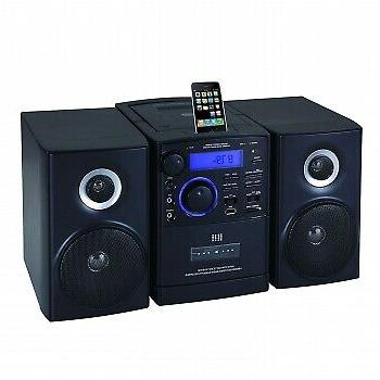 Supersonic MP3/CD Player with iPod Docking, USB/SD/AUX Input