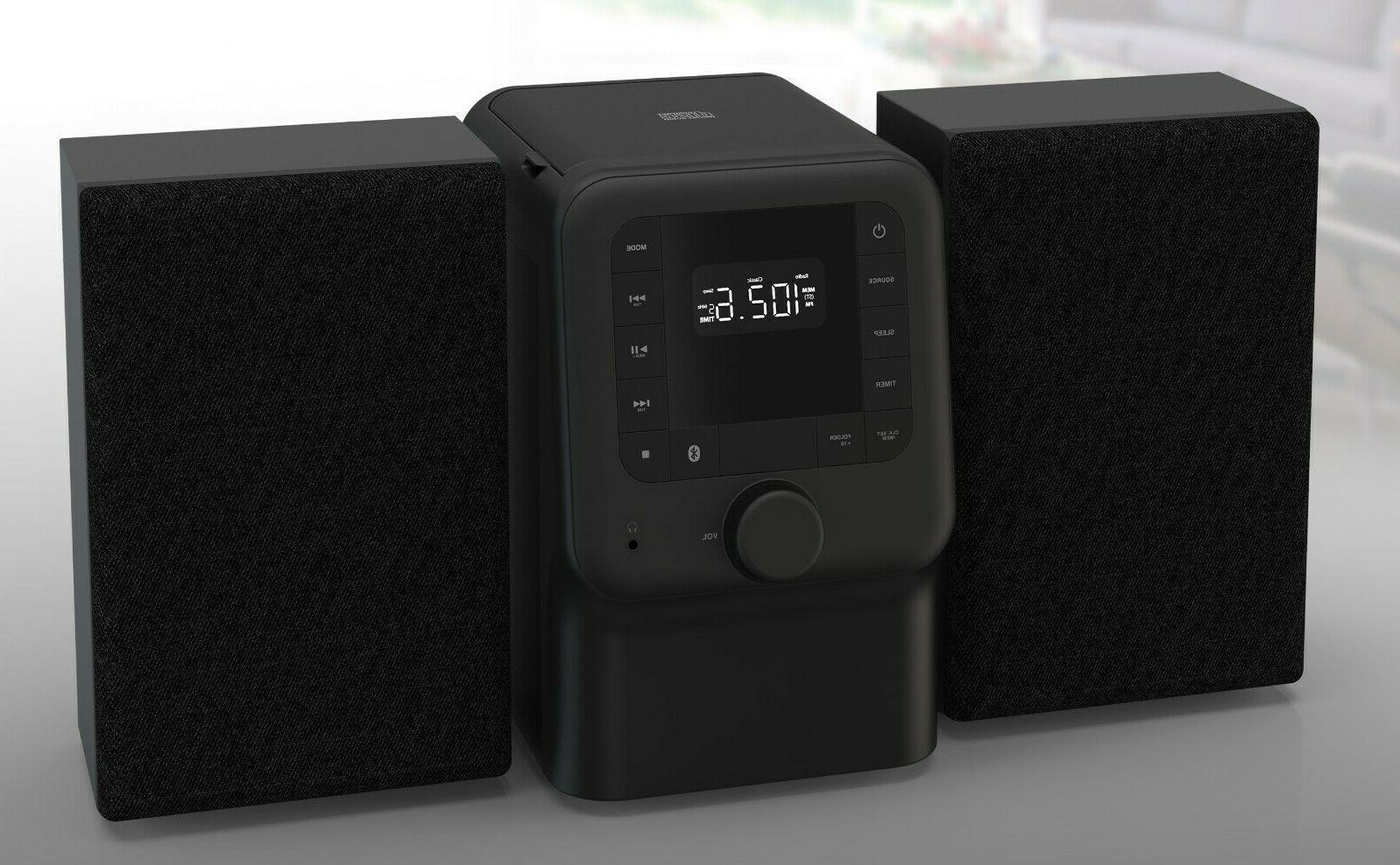 new bluetooth cd player shelf stereo system