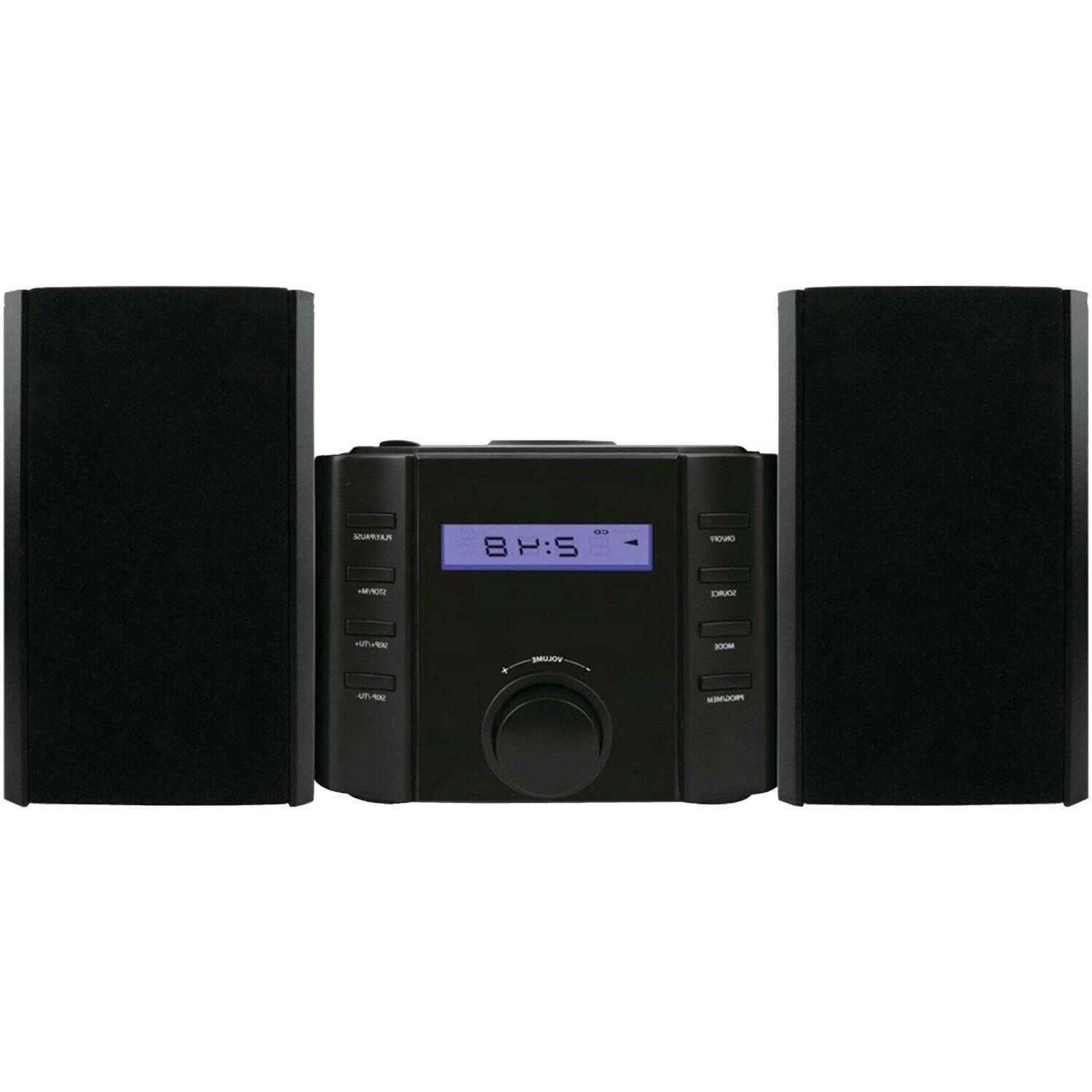 New Bluetooth Compact Shelf Stereo Music System CD Player AM