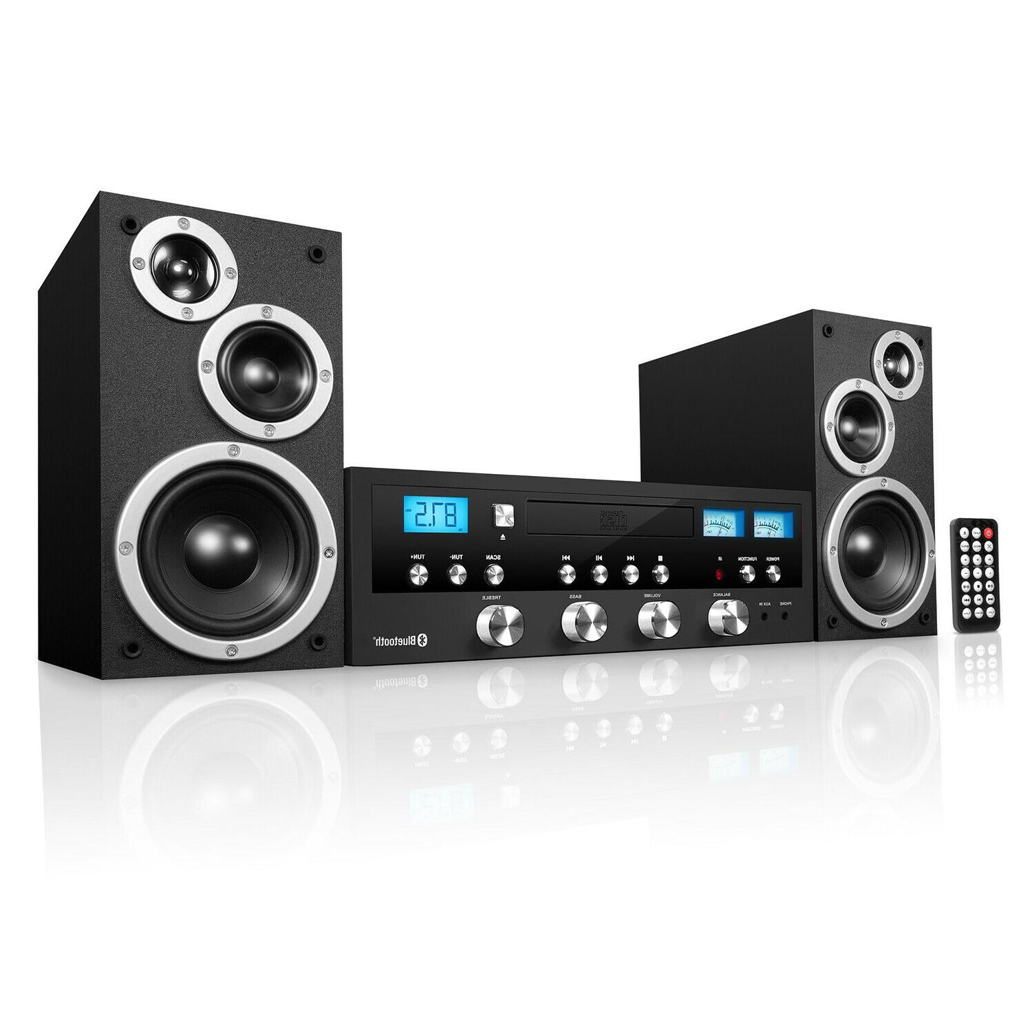 bluetooth technology home speaker stereo system cd