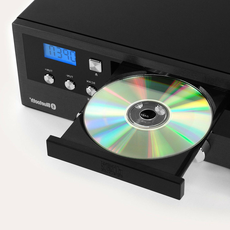 Bluetooth Speaker Stereo CD Radio Shelf