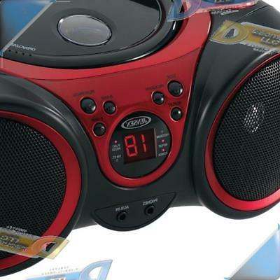 NEW Boombox Stereo CD System with AM/FM Radio