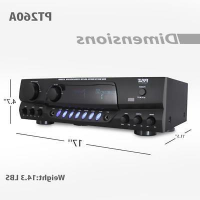 Pyle 200 Watts Digital AM/FM