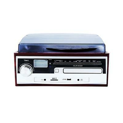 TechPlay Record Stereo Speaker System CD Player