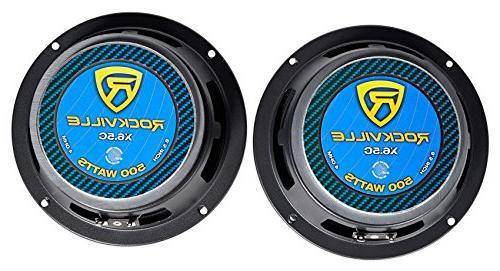 """Pair 6.5"""" Watt Speakers/Titanium"""