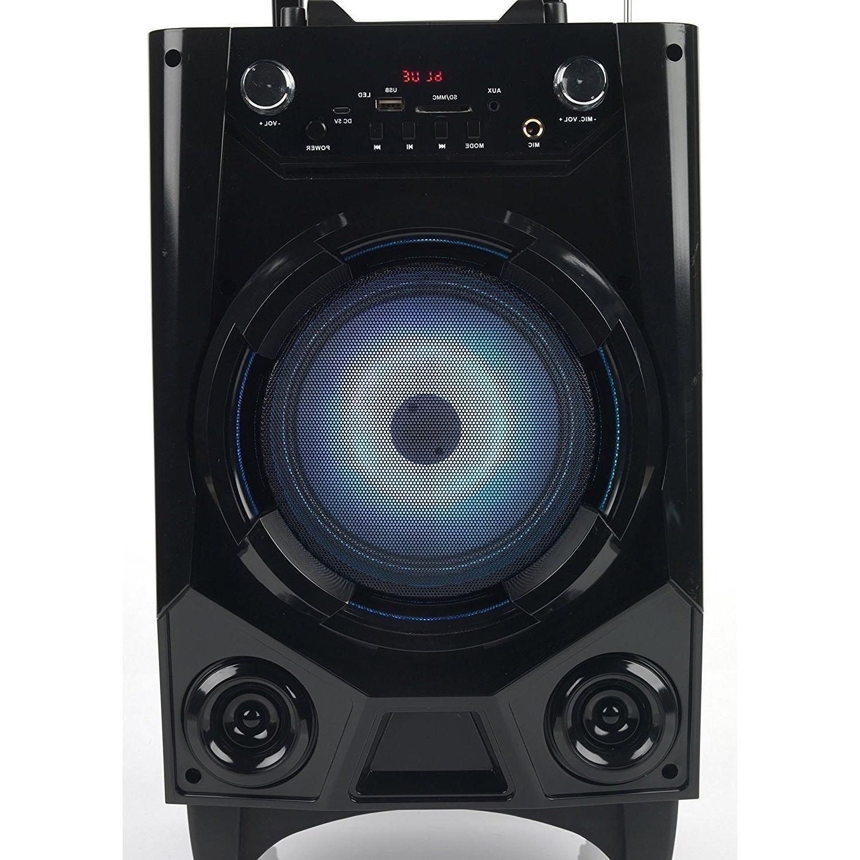 BT Party Speaker Bluetooth Stereo Loud w/ Mic