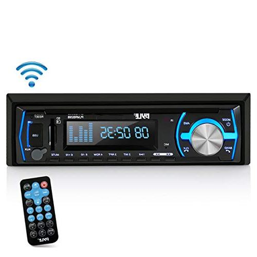 NEW Pyle PLMRB29B Bluetooth MP3/USB/Aux/SD Card Stereo Radio